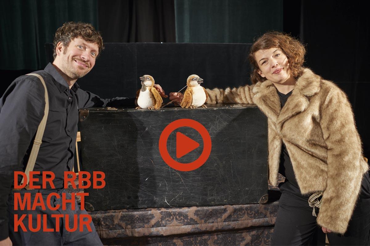 Video des RBB über das Theater im Bergmannkiez